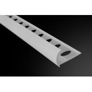 PERFIL PVC CLASICO BLANCO 10,5