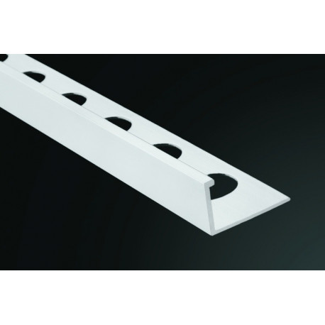 PERFIL PVC RECTO BLANCO 9