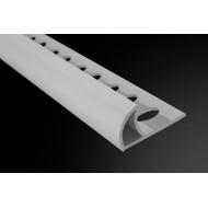Perfil Curvo PVC 12,5 mm de 2,60 m